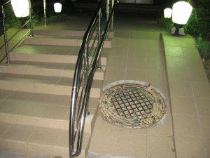 Rampa de acces la o terasa